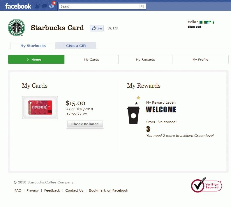 StarbucksのFacebookアプリで、リアルにつながるギフトを贈る