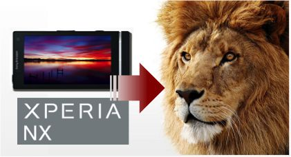 #XPERIA NXで撮影したカメラ画像をMacに取り込む2つの方法